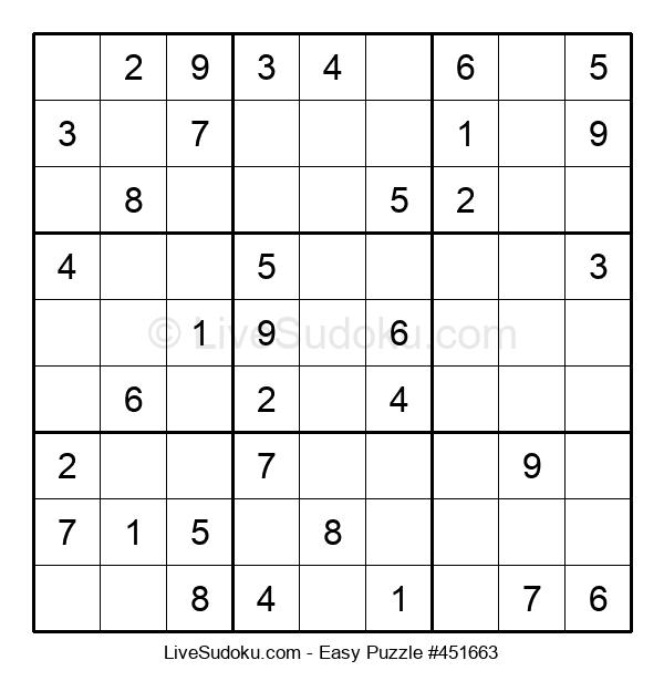 Beginners Puzzle #451663