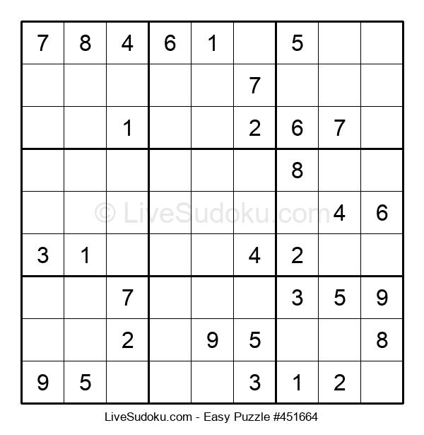 Beginners Puzzle #451664