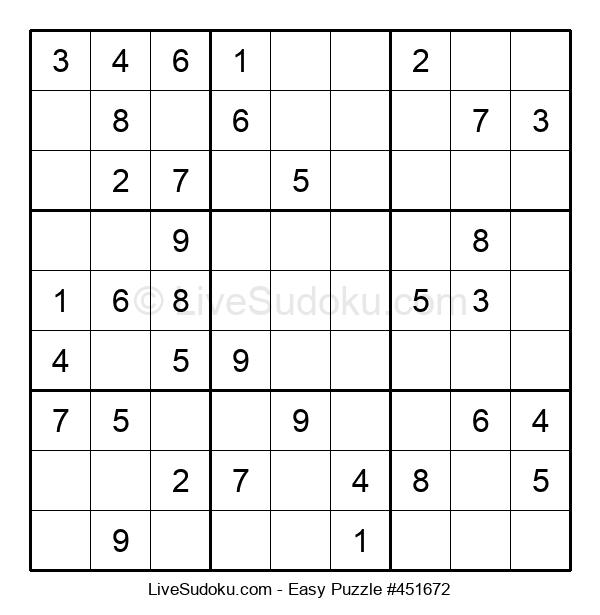 Beginners Puzzle #451672