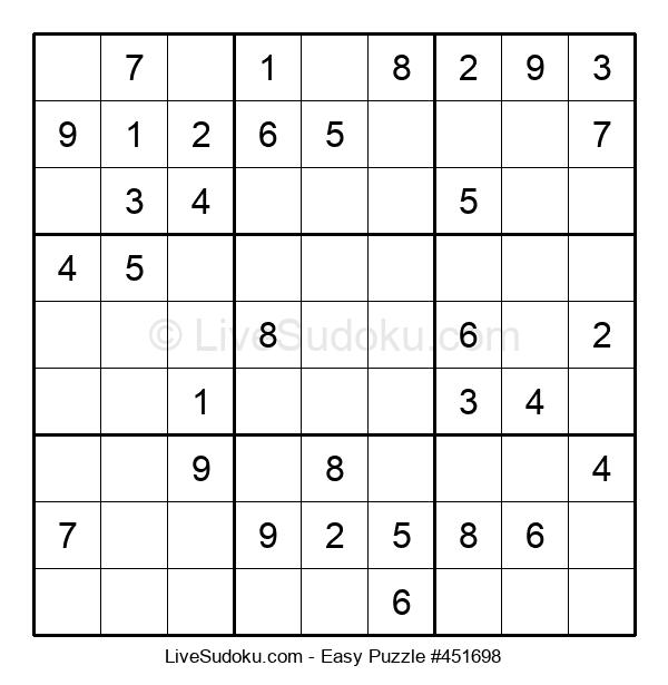 Beginners Puzzle #451698