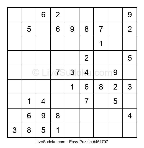 Beginners Puzzle #451707