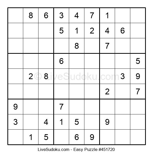 Beginners Puzzle #451720