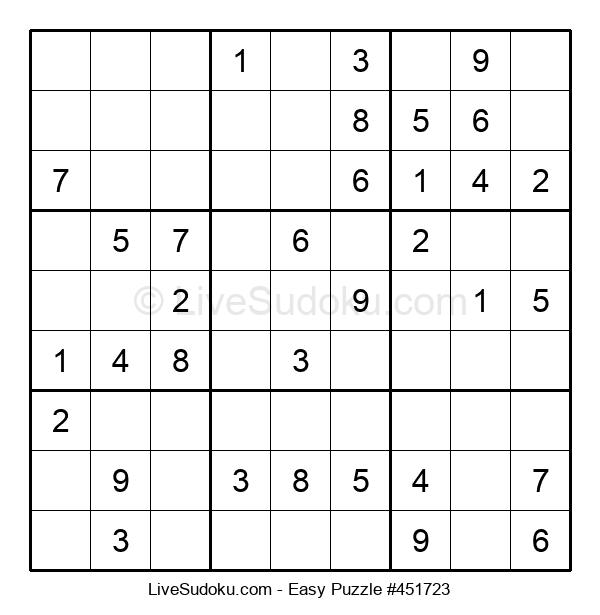 Beginners Puzzle #451723