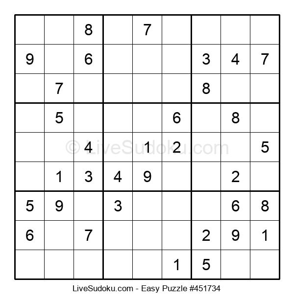 Beginners Puzzle #451734