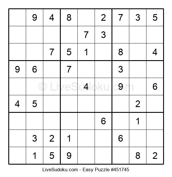 Beginners Puzzle #451745