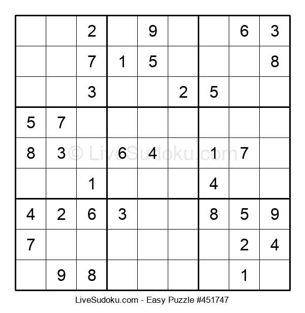 Beginners Puzzle #451747