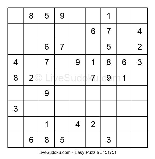 Beginners Puzzle #451751
