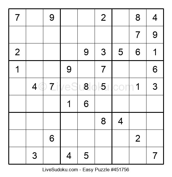 Beginners Puzzle #451756