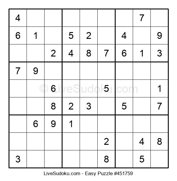 Beginners Puzzle #451759