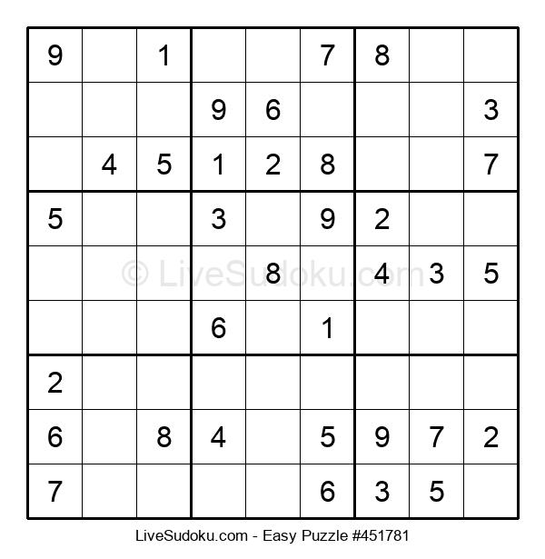 Beginners Puzzle #451781