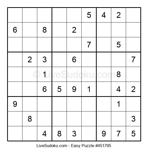 Beginners Puzzle #451795
