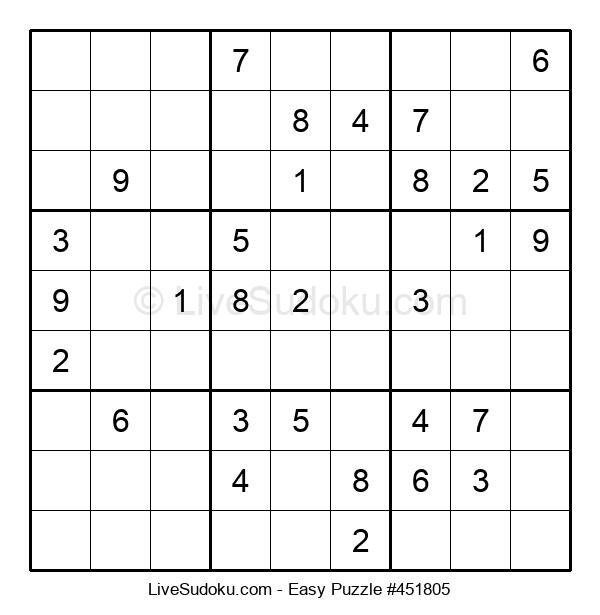 Beginners Puzzle #451805
