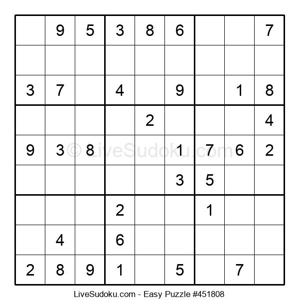 Beginners Puzzle #451808