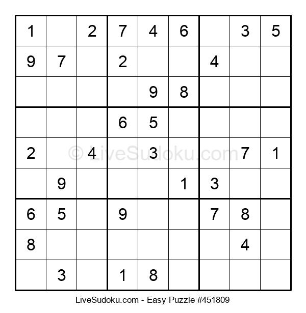 Beginners Puzzle #451809