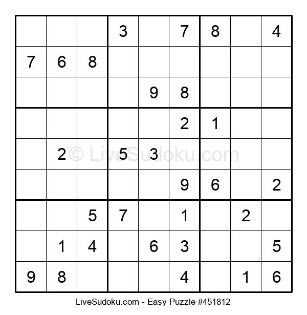 Beginners Puzzle #451812