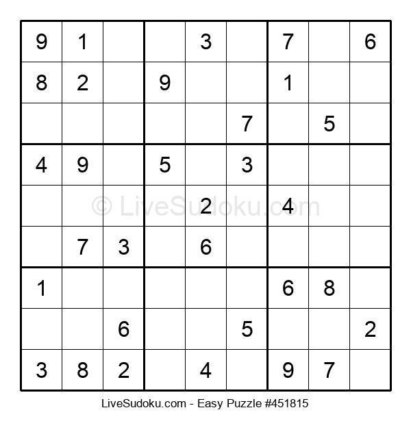 Beginners Puzzle #451815