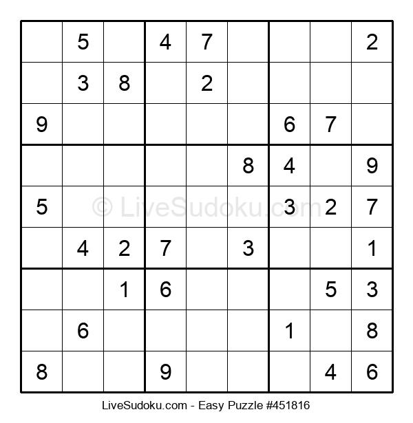 Beginners Puzzle #451816