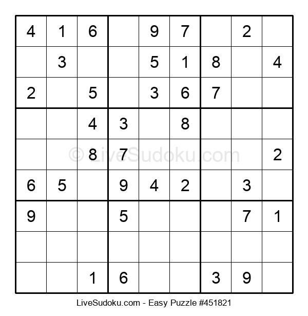 Beginners Puzzle #451821