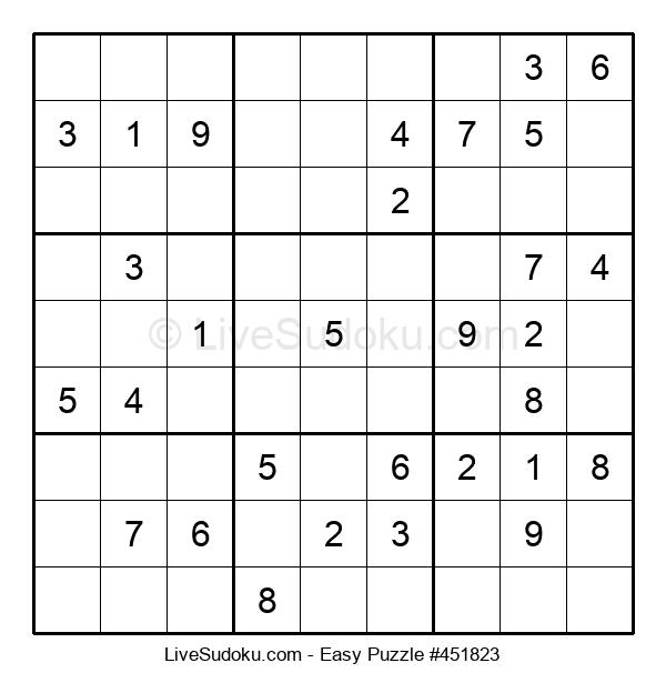 Beginners Puzzle #451823