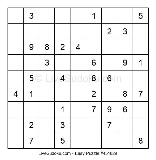 Beginners Puzzle #451829