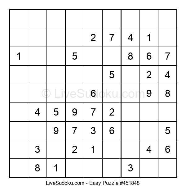 Beginners Puzzle #451848