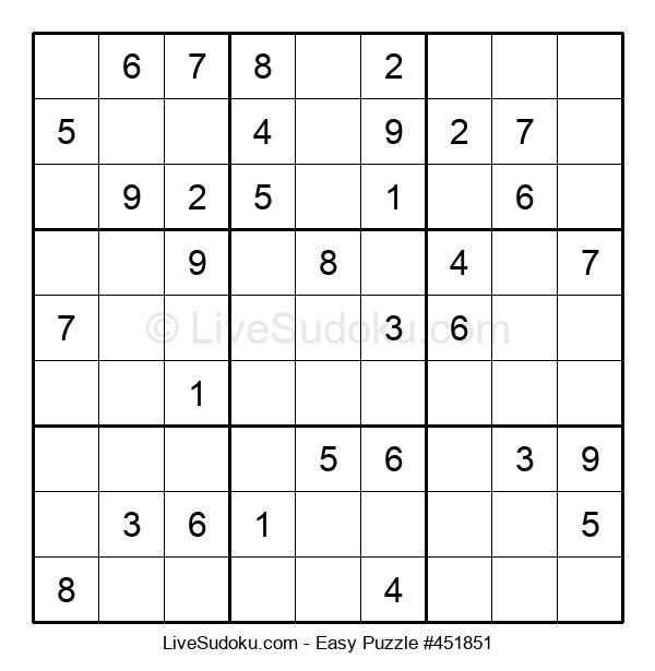 Beginners Puzzle #451851