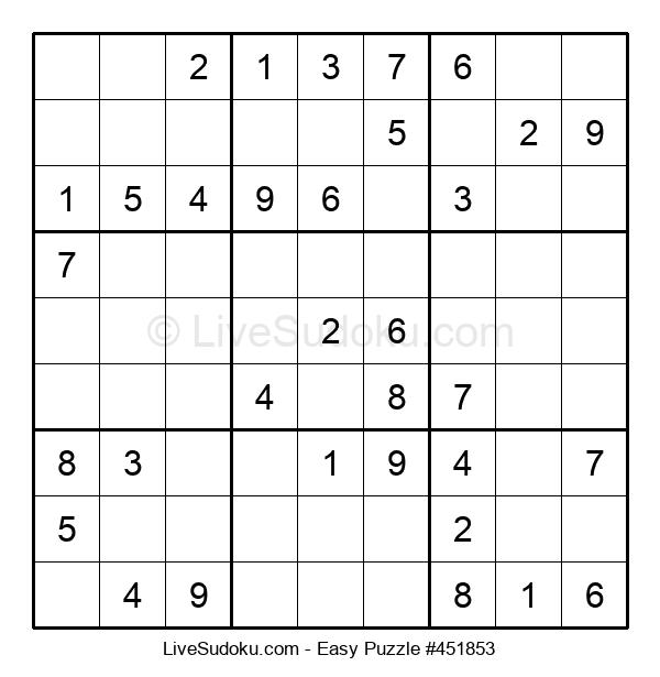 Beginners Puzzle #451853