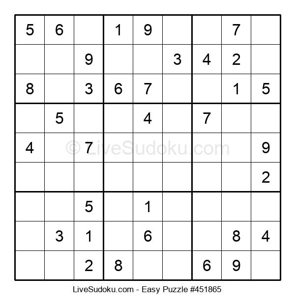 Beginners Puzzle #451865