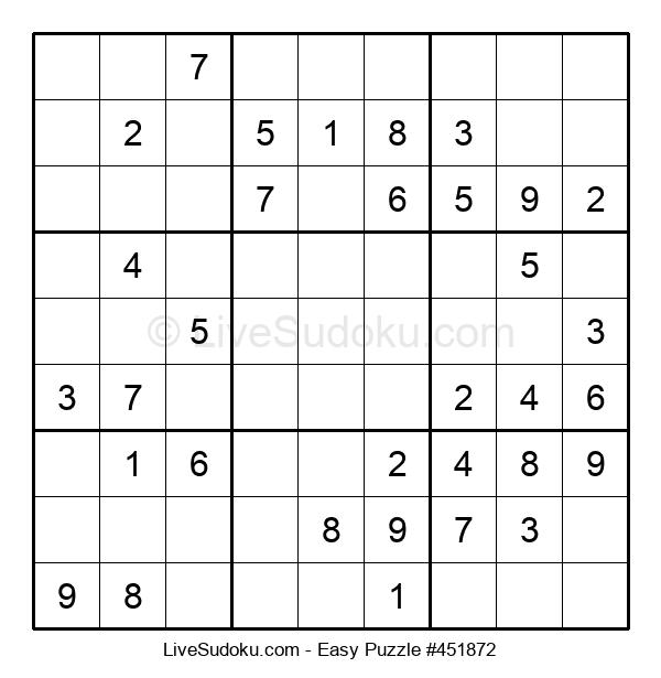 Beginners Puzzle #451872