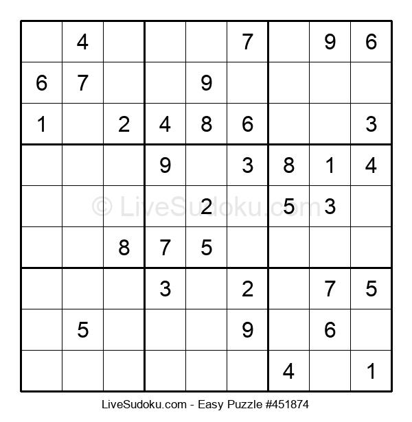 Beginners Puzzle #451874
