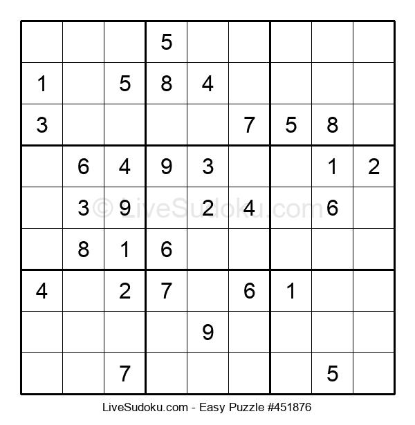Beginners Puzzle #451876