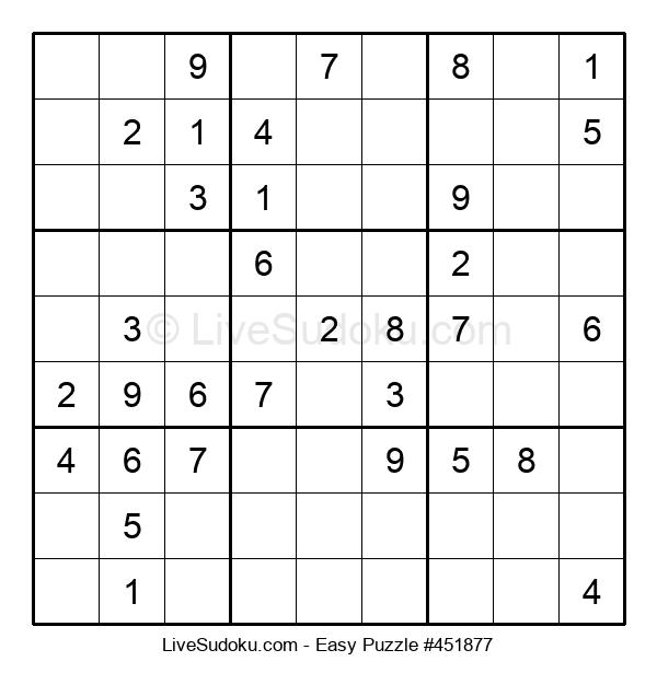 Beginners Puzzle #451877