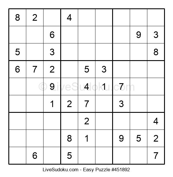 Beginners Puzzle #451892