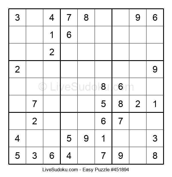 Beginners Puzzle #451894