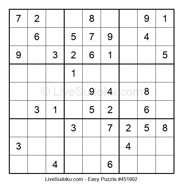 Beginners Puzzle #451902