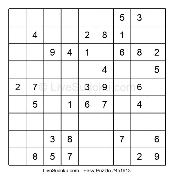 Beginners Puzzle #451913