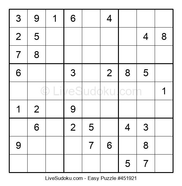 Beginners Puzzle #451921