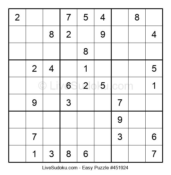 Beginners Puzzle #451924