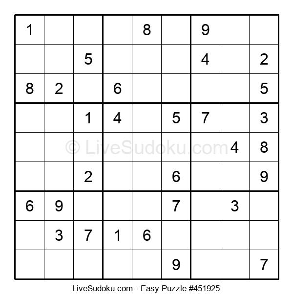 Beginners Puzzle #451925