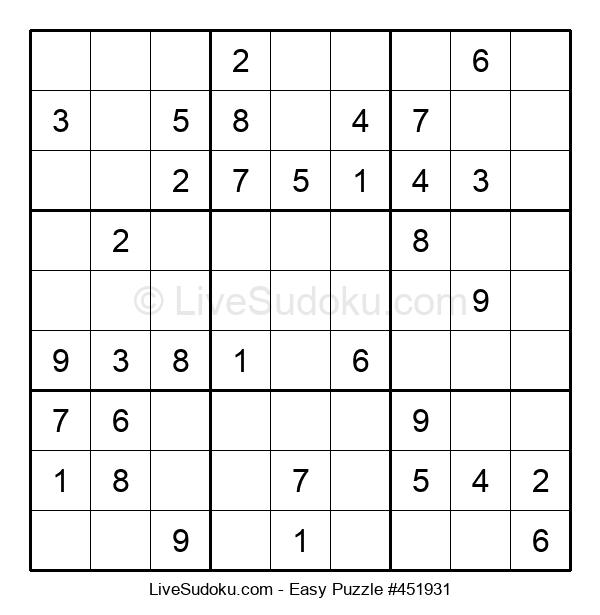 Beginners Puzzle #451931
