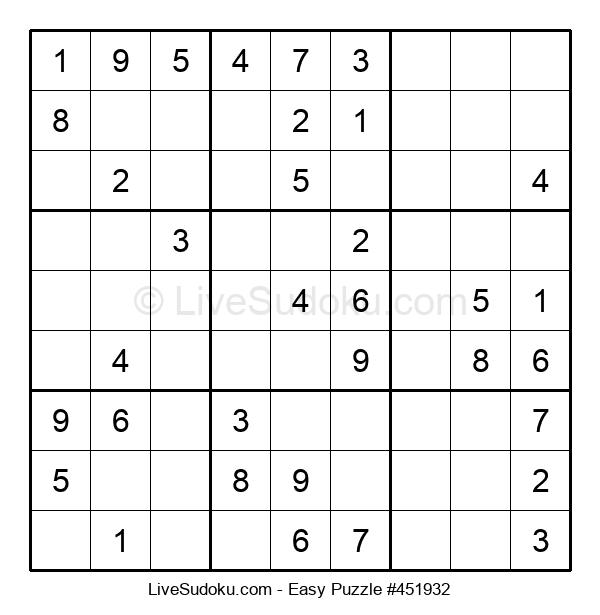 Beginners Puzzle #451932