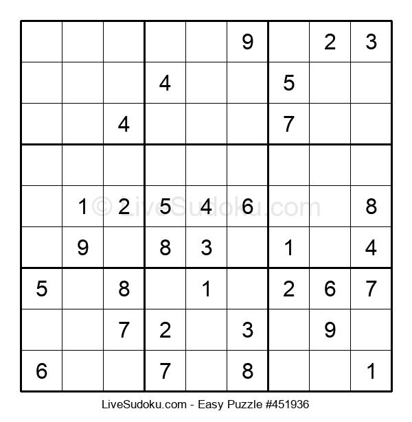Beginners Puzzle #451936