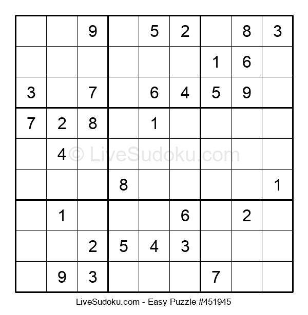 Beginners Puzzle #451945