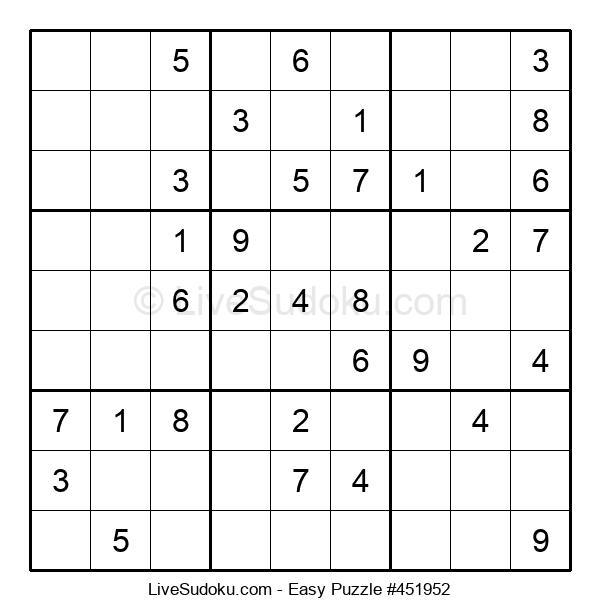 Beginners Puzzle #451952