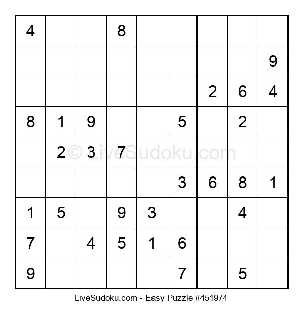 Beginners Puzzle #451974