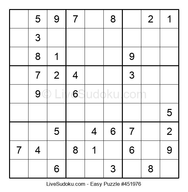 Beginners Puzzle #451976