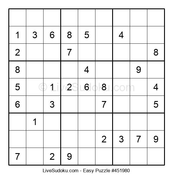 Beginners Puzzle #451980