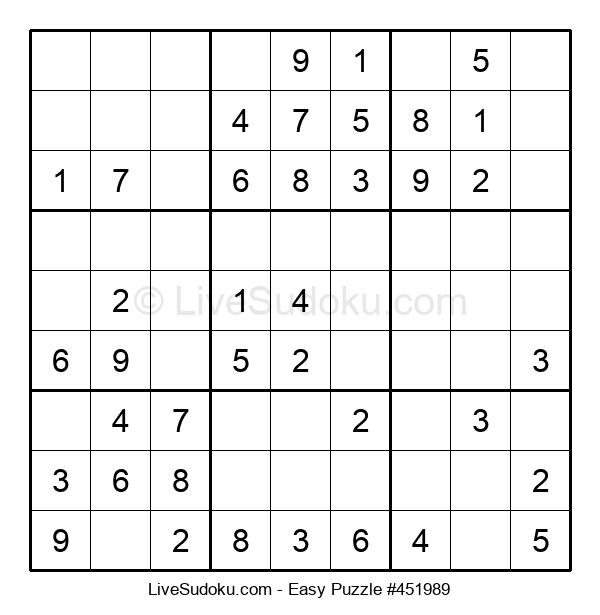 Beginners Puzzle #451989