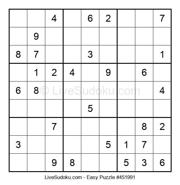 Beginners Puzzle #451991