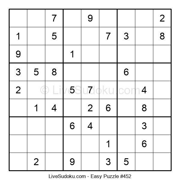 Beginners Puzzle #452